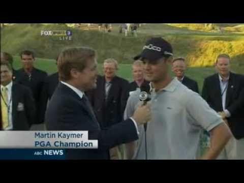 Martin Kaymer wins US PGA Championship 2010