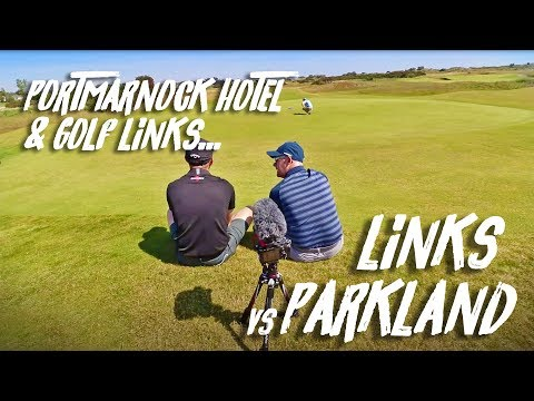 LINKS GOLF vs PARKLAND GOLF: Portmarnock Hotel & Golf Links Review with Mark Crossfield & Co