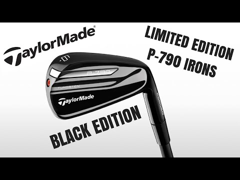 Taylormade P-790 Black First Look – Limited Edition (THE BEST LOOKING IRONS EVER?)