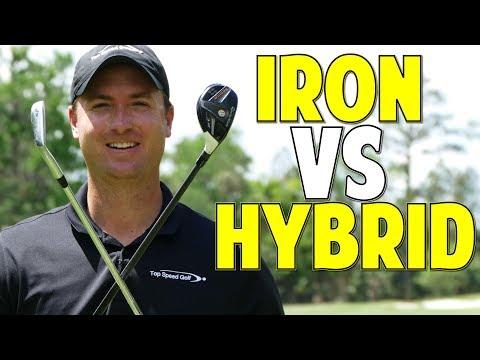 Hybrid Swing vs Iron Swing