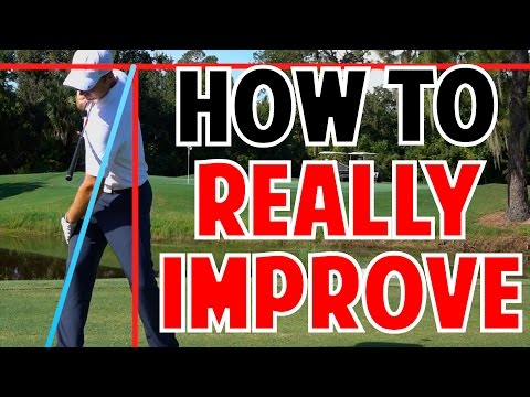 Golf Lesson To Really Improve | What I Did Wrong