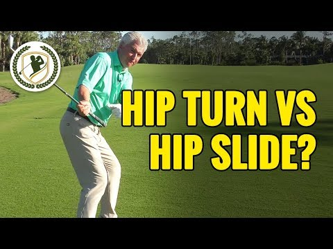 Golf Downswing Lesson:  Hip Turn vs Golf Hip Slide – Which Is Right?