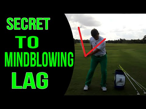 Golf Lesson: SECRET To Building REAL Lag In Your Swing