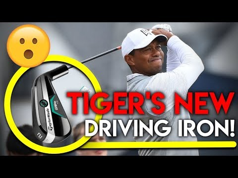 Tiger Woods New Driving Iron – TaylorMade GAPR!!