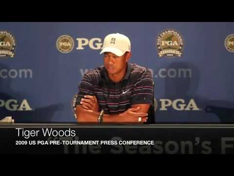 Tiger Woods Interview US PGA 2009