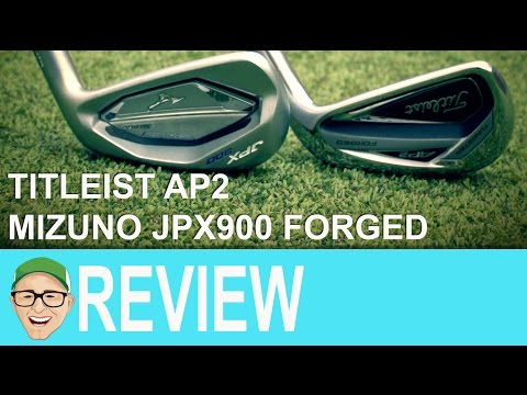 Titleist AP2 Mizuno JPX900 Forged Irons