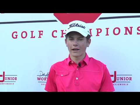 Michael Brennan 2018 Dustin Johnson World Junior Golf Championship Boys Winner