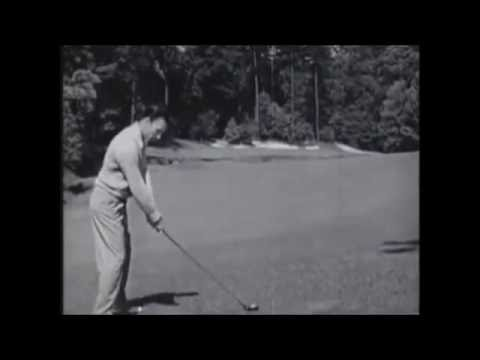 Ben Hogan Golf Swing At Augusta
