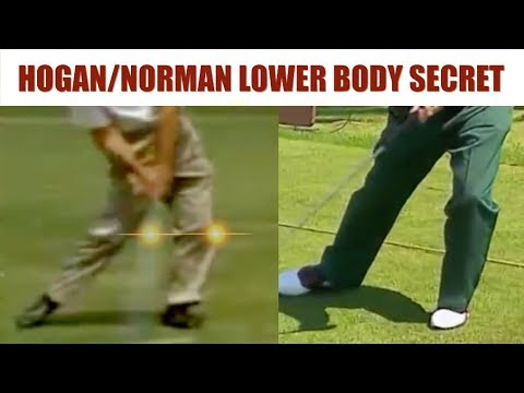 BEN HOGAN MOE NORMAN LOWER BODY SECRET