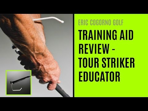 GOLF: Golf Training Aid Review – Tour Striker Educator