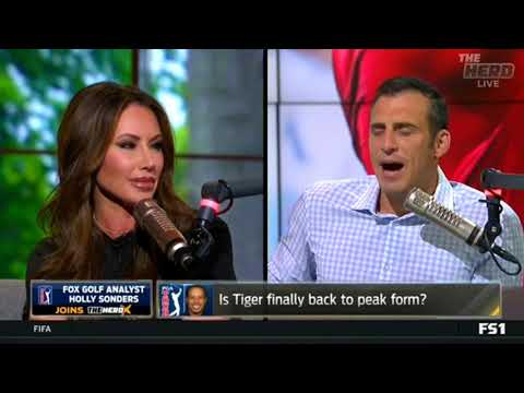 Holly Sonders- Is Tiger finally back to peak form?The Herd 8/13/18