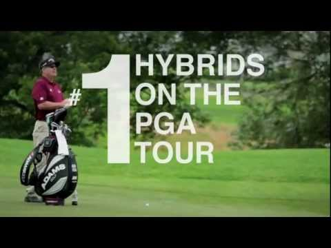 Adams Golf – #1 Hybrid on PGA Tour … COMBINED.