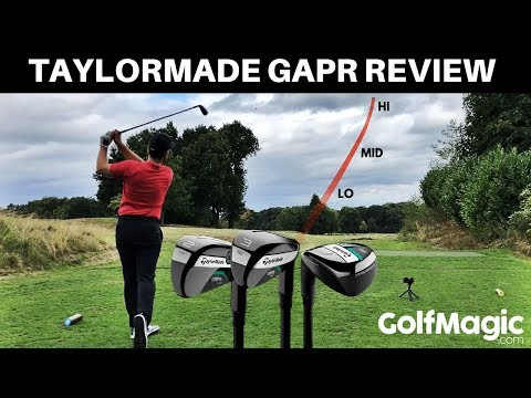 TAYLORMADE GAPR REVIEW: THE UTILITY AS USED BY TIGER WOODS AT THE OPEN