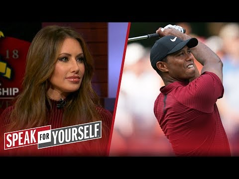 Holly Sonders on Tiger finishing second at the 2018 PGA Championship | GOLF | SPEAK FOR YOURSELF