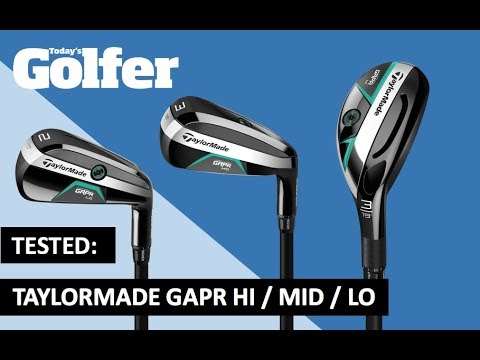 TESTED: TaylorMade GAPR Lo / Mid / Hi