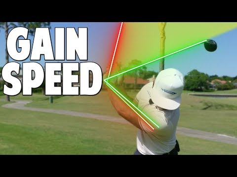 How to Gain More Speed In The Golf Swing