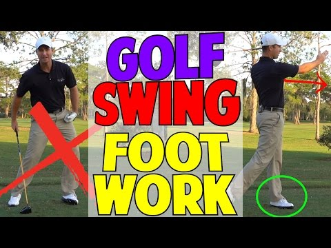 Golf Swing Footwork   You Have Been Told The Wrong Information?