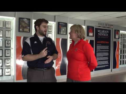 Carson-Newman Golf: Suzanne Strudwick spring schedule interview 1-16-14