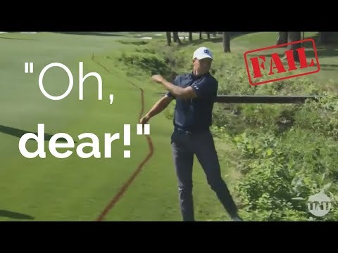 STRANGE THINGS HAPPENING! 24 Golf Shot Fails 2018 PGA Championship