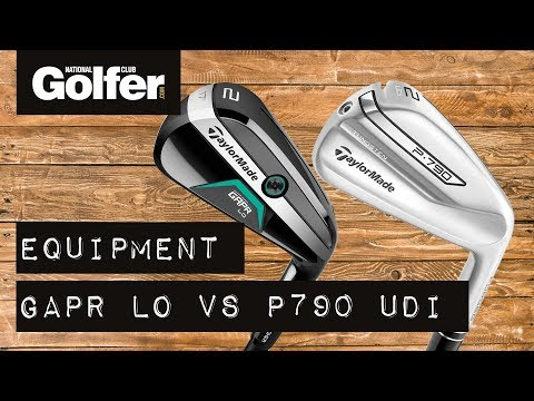Battle of the 2-irons: TaylorMade GAPR Lo v P790 UDI