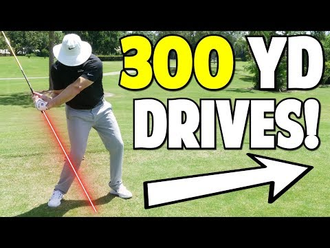 Drive The Golf Ball Over 300 Yards
