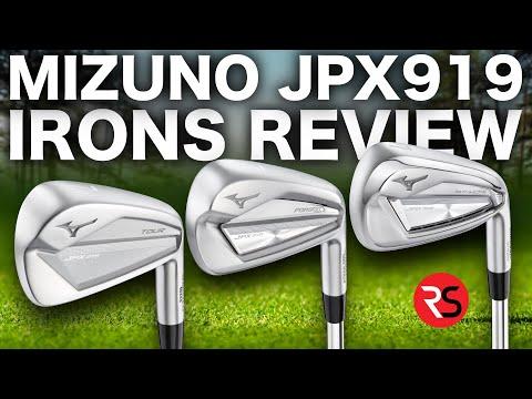 STUNNING LOOKING……NEW MIZUNO JPX919 IRONS!