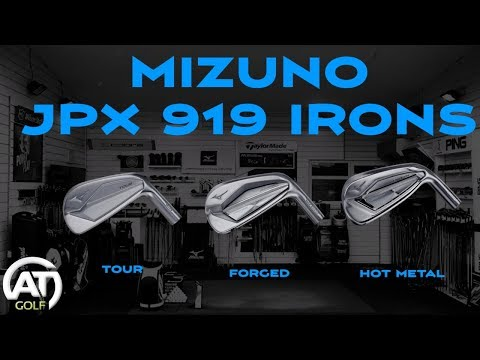 MIZUNO JPX 919 IRONS REVIEW – TOUR, FORGED & HOT METAL