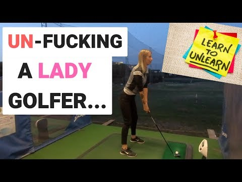 GOLF LESSON FINALLY WORKS.