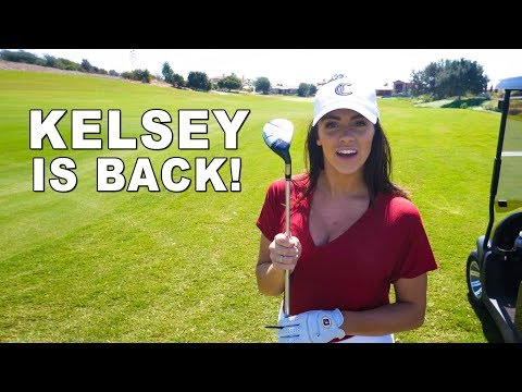 GOLFING WITH KELSEY & GOLFHOLICS / PART 2