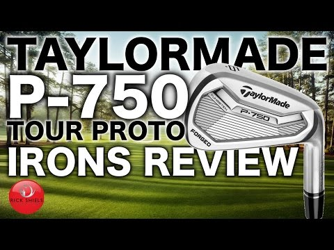 NEW TAYLORMADE P-750 TOUR PROTO IRONS REVIEW