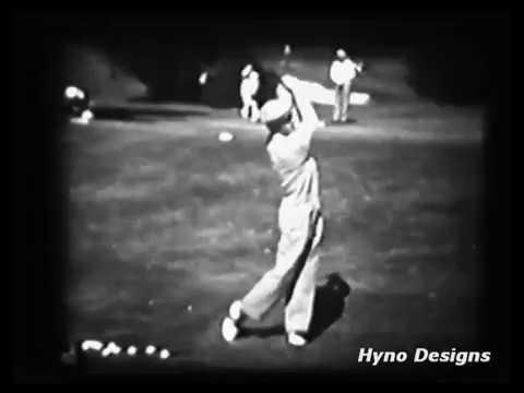 Ben Hogan – Old Love (Rare Film of Hogan Practicing from the 1940ties)