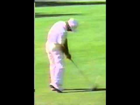Gary Player walk through golf swing