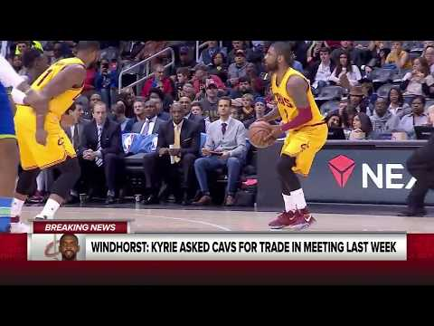KYRIE IRVING REQUEST'S TRADE FROM THE CAVS!!! FULL INTERVIEW!!