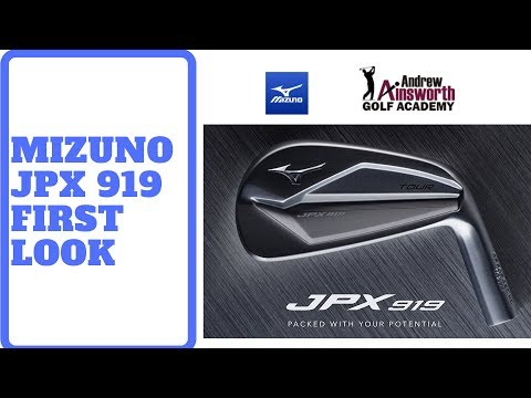 Mizuno & Brooks Koepka. New Mizuno 919 Irons first look.