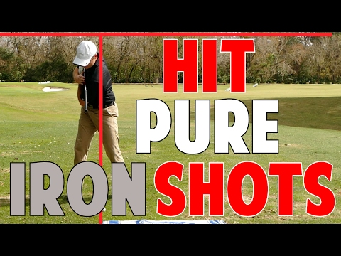 Golf Lesson to Hit Pure Iron Shots    Shoulder to Shoulder Drill