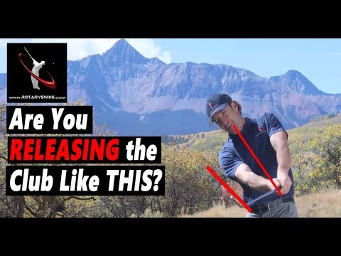 Are You Being Taught the WRONG WAY to Release the Golf Club?
