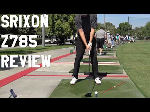 SRIXON z785 DRIVER GOLF REVIEW