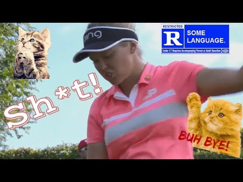 LANGUAGE WARNING! 22 Fantastic Golf Shot Fails 2018 Evian Championship LPGA Tournament