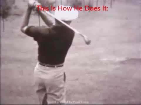 Ben Hogan's Secret: Club And Right Shoulder Connectivity