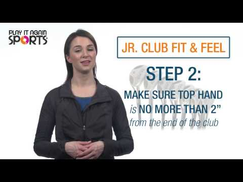 Choosing The Right Junior Golf Clubs