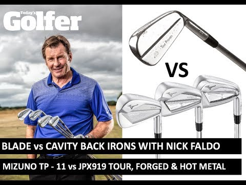 Blade vs Cavity Back irons with Sir Nick Faldo