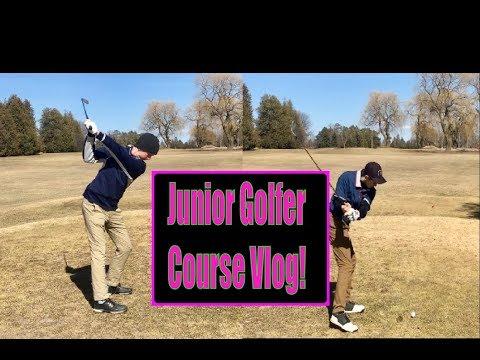 Junior Golf: Course Vlog