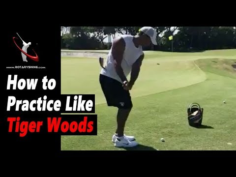 How to Practice Golf Like Tiger Woods