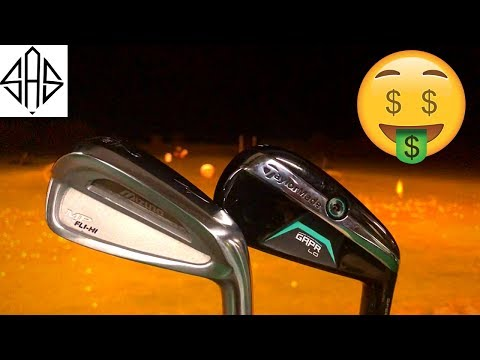EXPENSIVE VS CHEAP: Taylormade GAPR vs Mizuno Fli-Hi 2 Iron