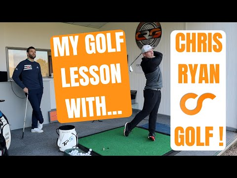 My Golf Lesson With Chris Ryan Golf!