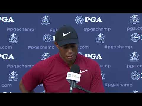 Tiger Woods breaks down his final round 64 at 2018 PGA Championship