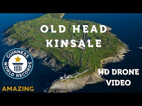 Old Head Golf Links | HD Drone Video | Golf in Ireland