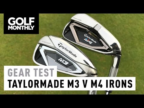 TaylorMade M3 vs M4 | Irons Test | Golf Monthly