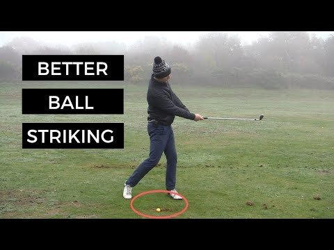 HOW TO STOP HITTING THE GROUND BEHIND THE GOLF BALL