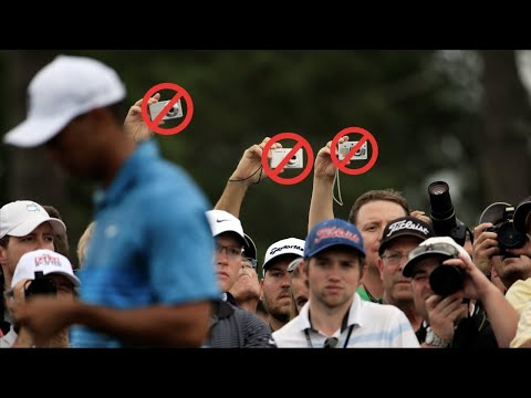 Augusta's strict rules for fans at the Masters